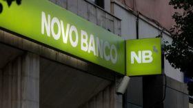 Una sucursal de Novo Banco.