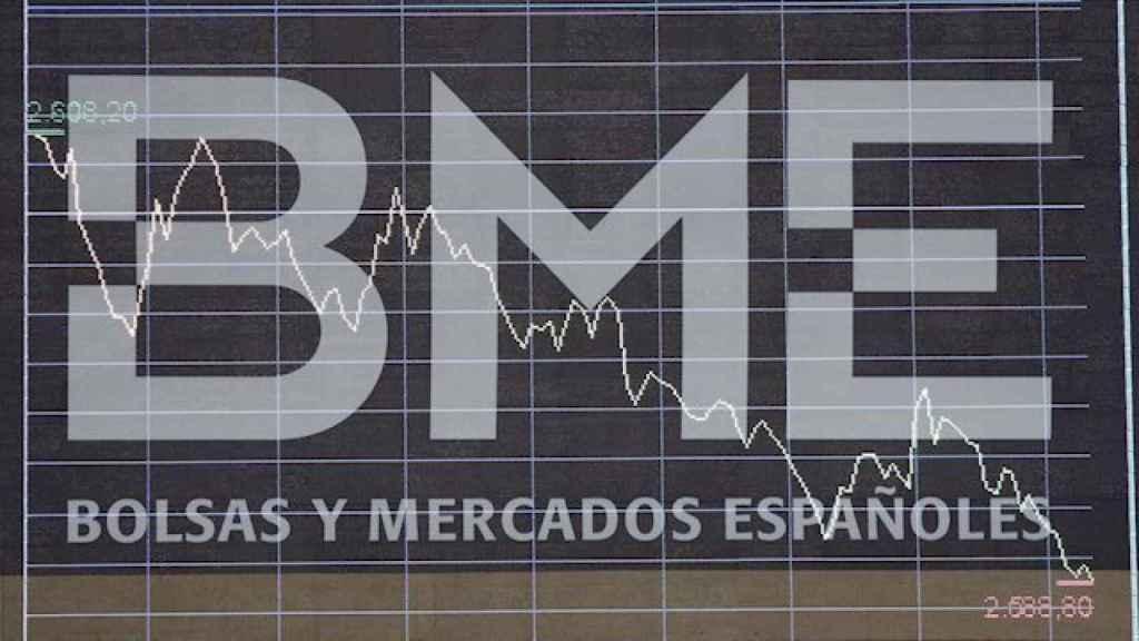Logotipo de BME en una imagen de archivo.