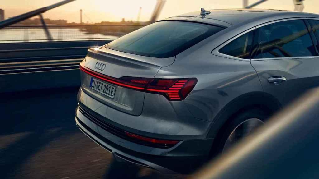 Audi E-Tron Sportback trasera