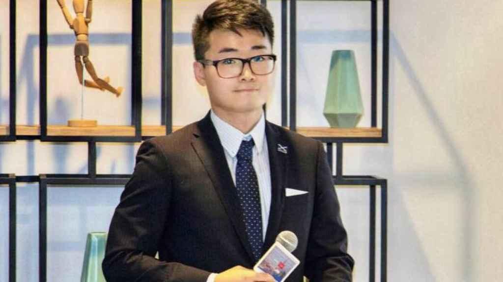 Simon Cheng, en una foto de su Facebook.