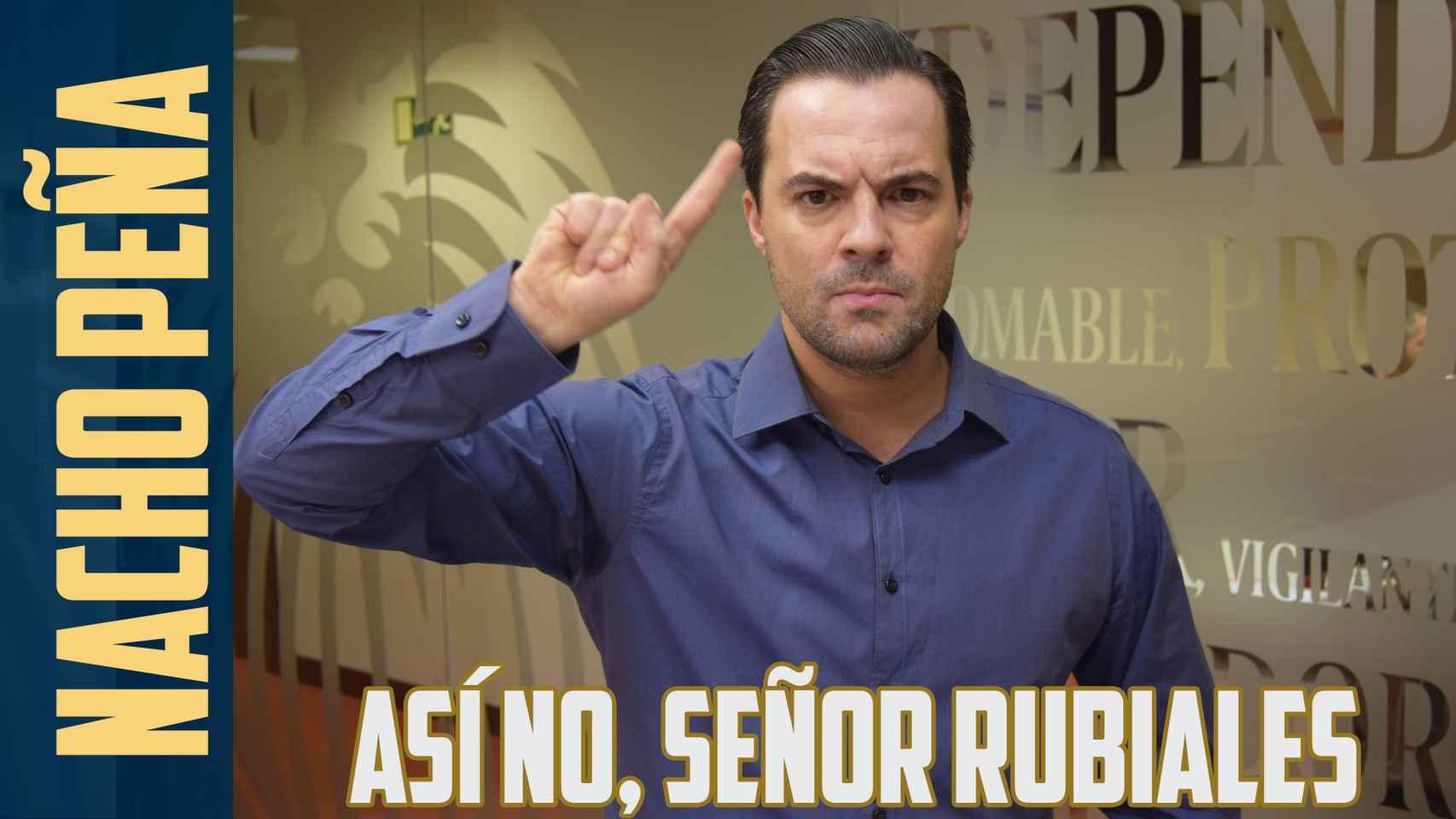 La opinión de Nacho Peña