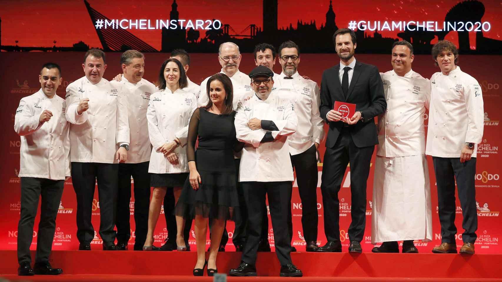 Jesús Álvarez, al frente de los cocineros lusos y españoles con tres estrellas Michelín