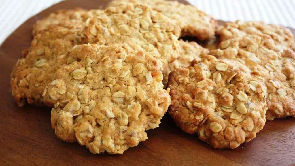 Unas galletas integrales como las que podemos encontrar en cualquier supermercado.