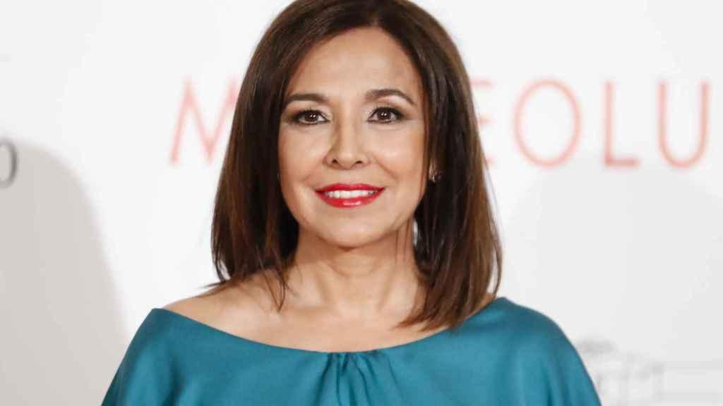 Isabel Gemio durante uno de sus últimos actos públicos.
