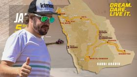 Así será el recorrido del rally Dakar 2020: el gran reto al que se enfrenta Fernando Alonso