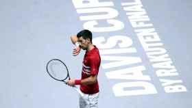 Novak Djokovic, en la Copa Davis 2019