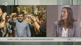 Adriana Ribas, entrevistada por Xavier Graset en TV3.