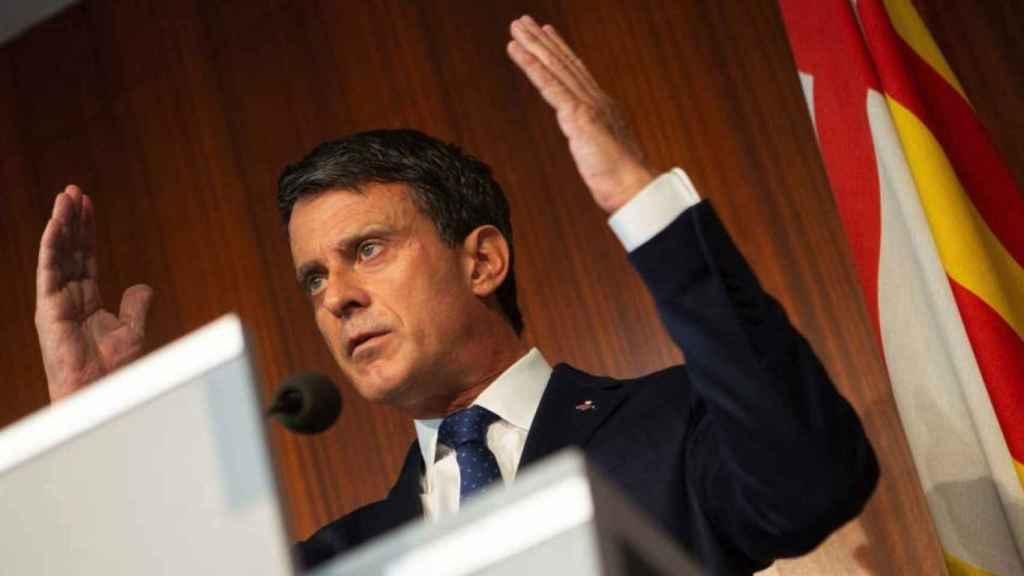 El exprimer ministro francés Manuel Valls en una imagen de archivo.