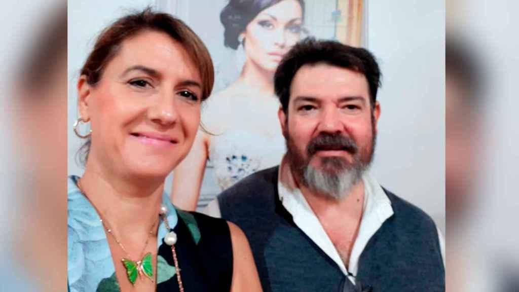 Rosa Reina y Jaime Lacaba, joyeros y víctimas de una atraco en el que perdieron 266.000 euros.