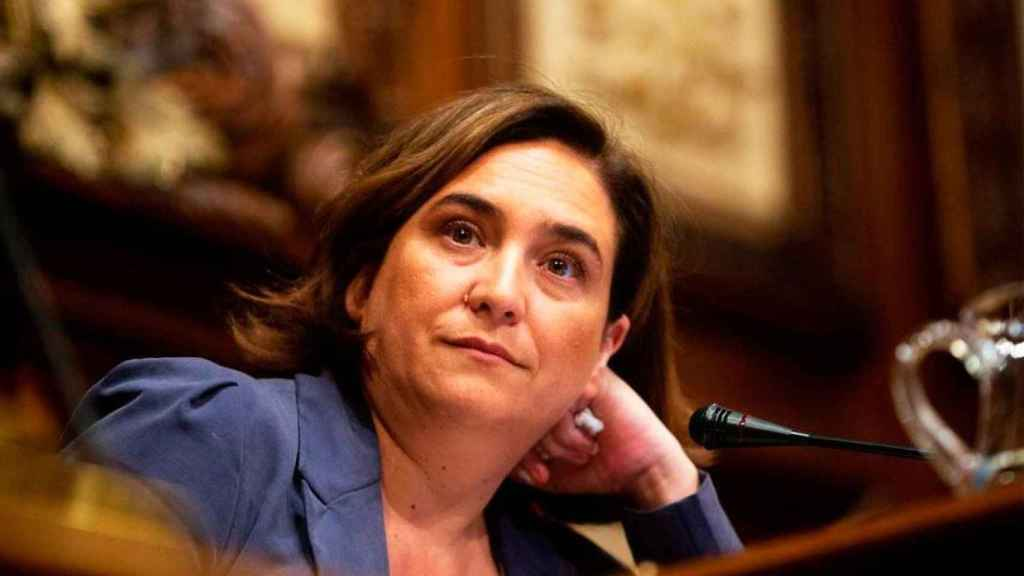 La alcaldesa de Barcelona y una de las líderes de Catalunya En Comú, Ada Colau