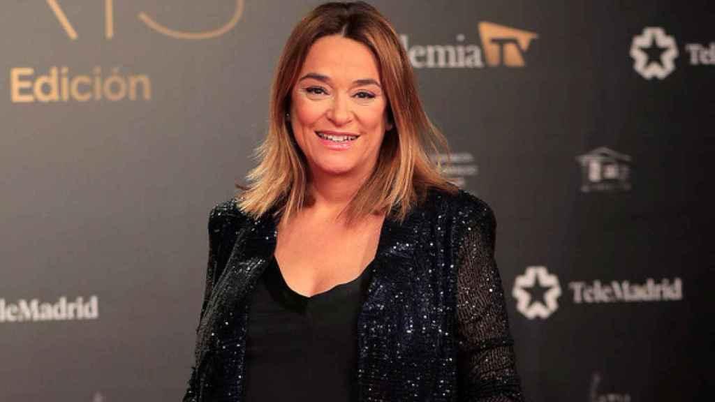 Toñi Moreno, en los Premios Iris.