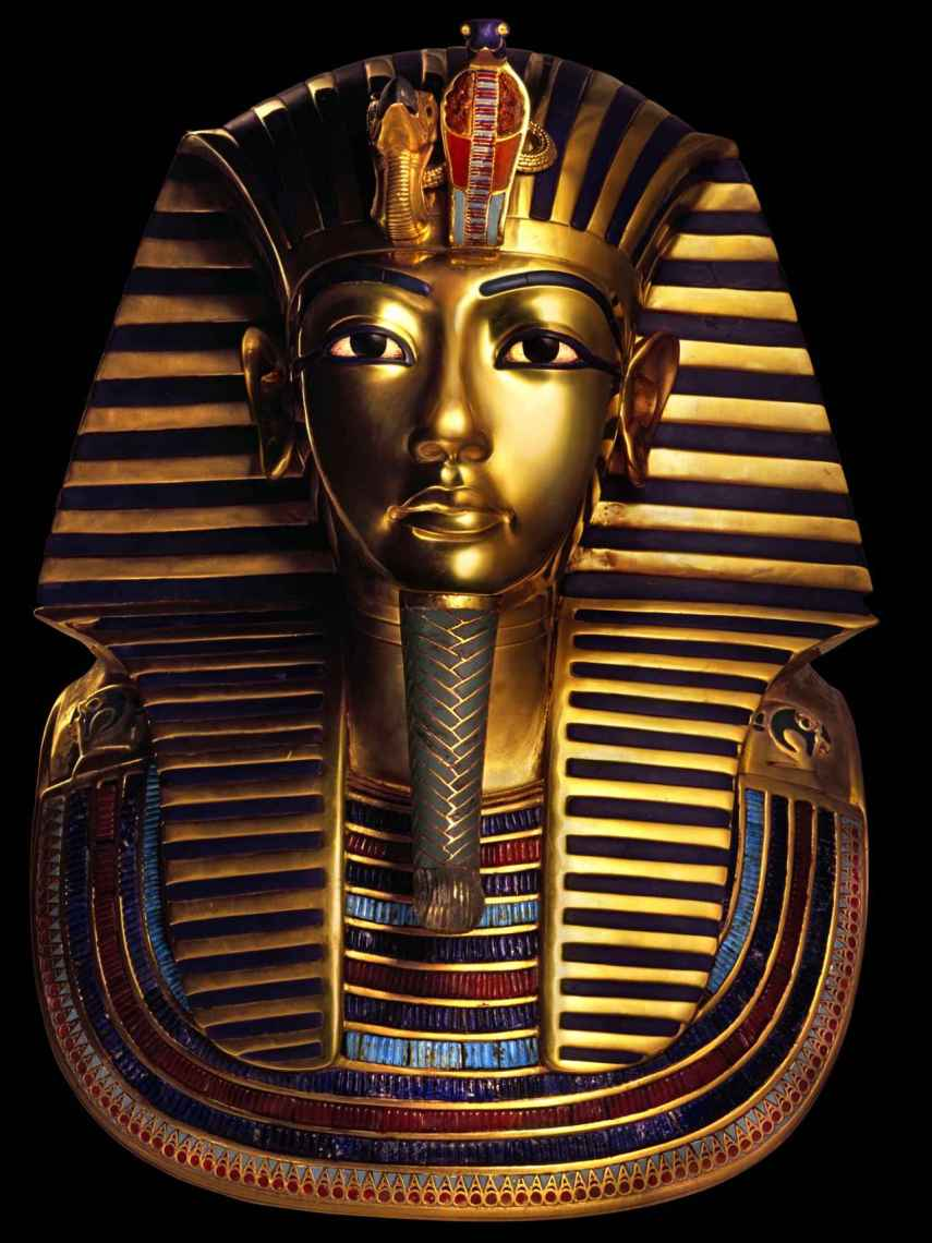 La máscara de Tutankamón.