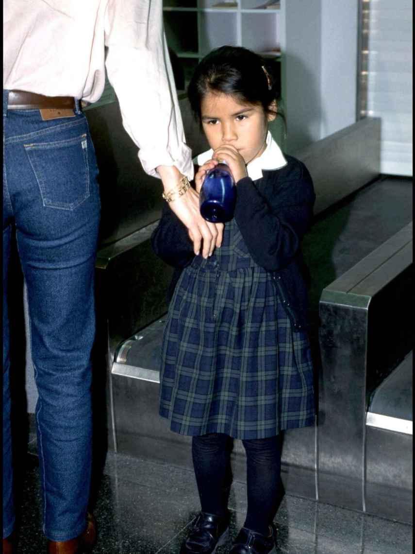 Chabelita se enteró de que era adoptada a través de una compañera de colegio.