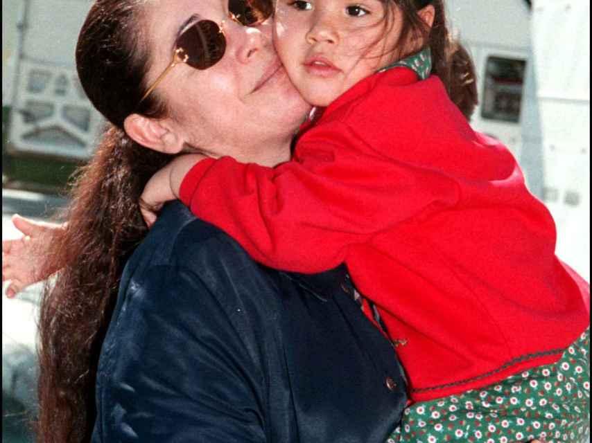 Pantoja protegía mucho a Isa P. cuando era niña.