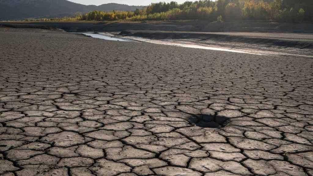 El embalse de Barasona en Graus, Huesca, el pasado octubre.
