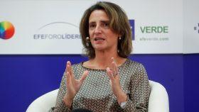 La ministra para la Transición Ecológica en funciones y futura vicepresidenta del Gobierno, Teresa Ribera.
