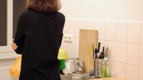 Julie, una de las mujeres que ha sufrido acoso por parte del futuro casero al visitar un apartamento en Berlín.
