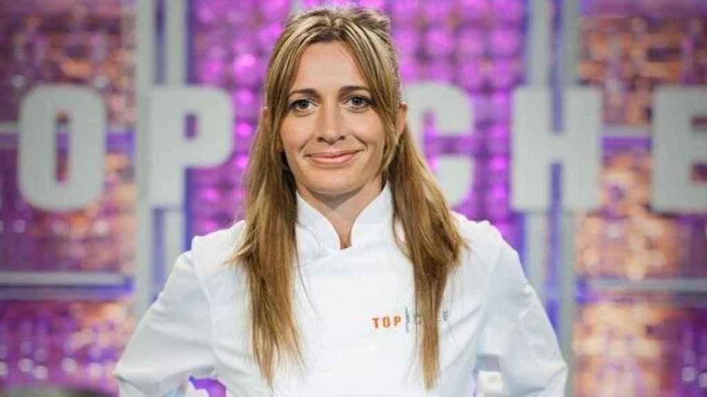 La cocinera, en la primera edición de 'Top Chef'.