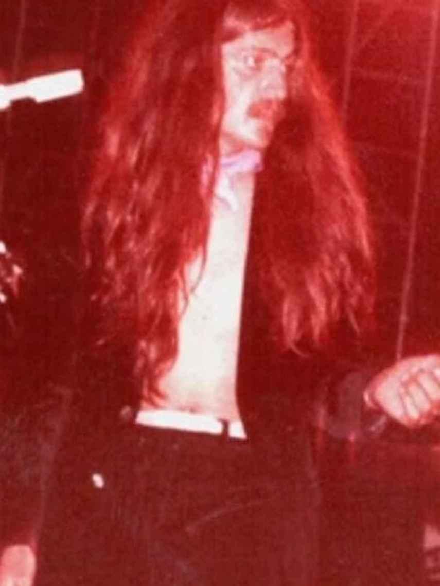 El Gran Wyoming en el festival de 1977 en una captura de la entrevista de Ana Pastor al presentador.