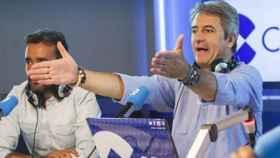 Juanma Castaño y Manolo Lama, en una imagen de archivo.