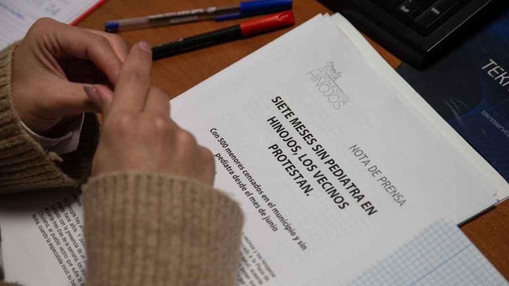 El comunicado emitido por el ayuntamiento de Hinojos en relación a la falta de pediatras en la localidad.