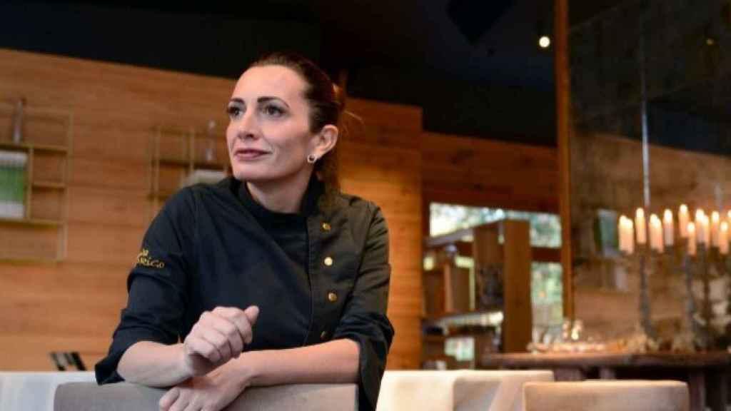 La chef Begoña Rodrigo, en uno de sus restaurantes.