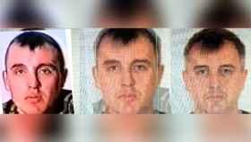 La comparación de imágenes de Denis Vyacheslavovich Sergeev elaborada por Bellingcat.