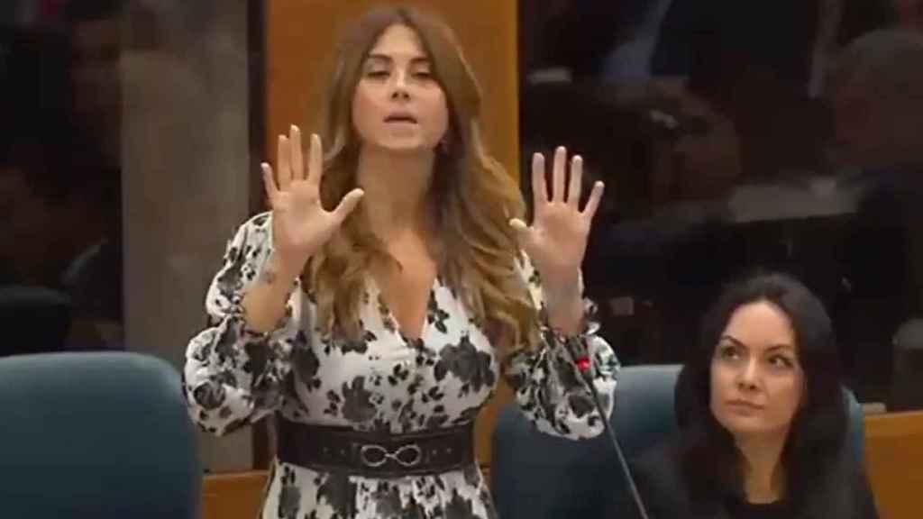 Esther Ruiz, diputada de Ciudadanos en la Asamblea de Madrid.