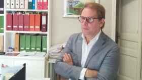 El presidente de Vox Barcelona, Joan Garriga, en una imagen de archivo.