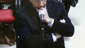 Juan Carlos Quer, durante su declaración en la sala en la primera semana del juicio.