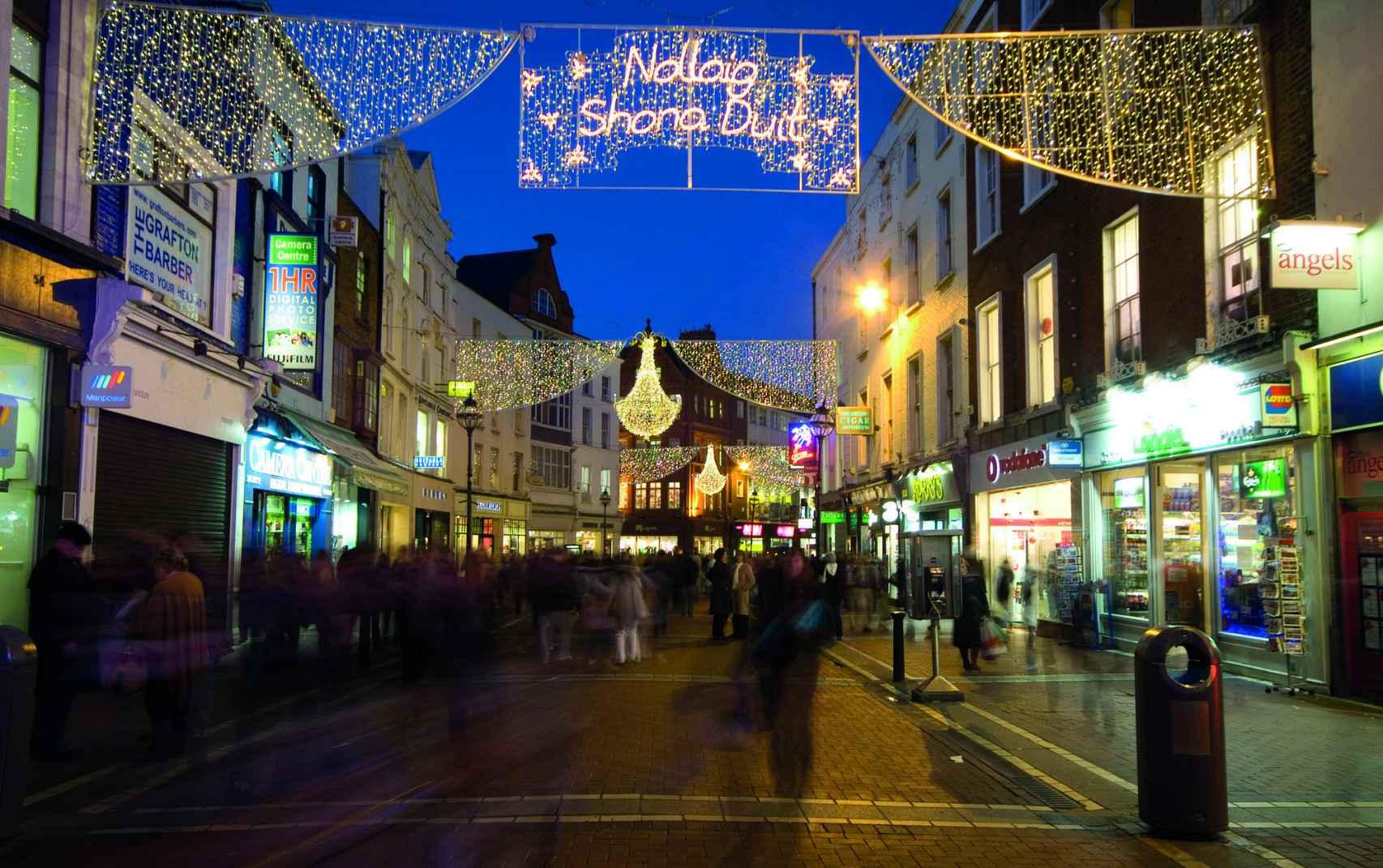 Navidad en Irlanda.