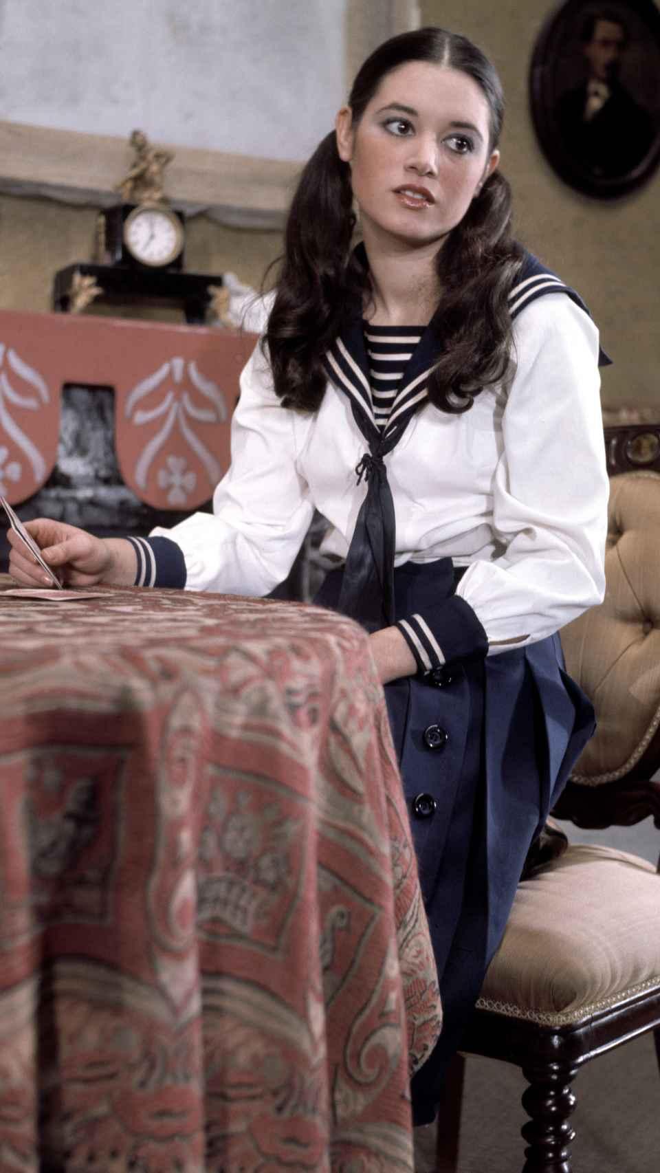 Teresa Rabal durante la representación de 'Gigi' en 1973.