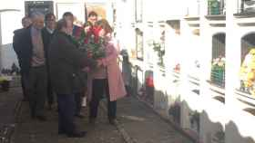 El secretario primero del PSC acude al homenaje a Ernest Lluch en Maià de Montcal (Girona)