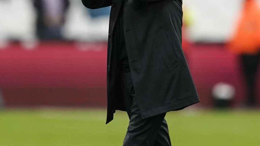 Mourinho durante el West Ham - Tottenham