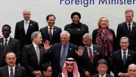 Josep Borrell en la cumbre de Nagoya (Japón).