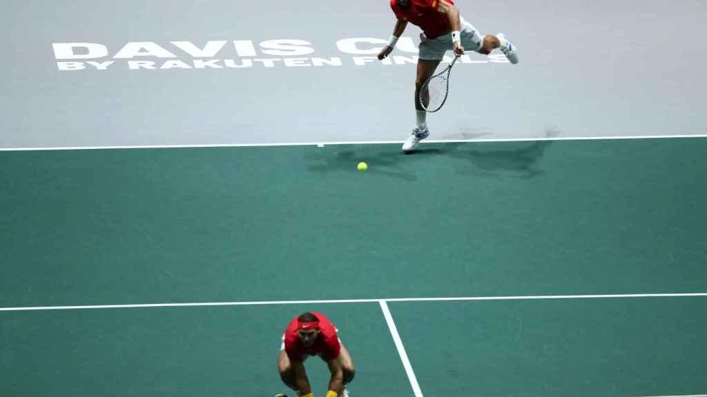 Rafa Nadal y Feliciano López contra Gran Bretaña