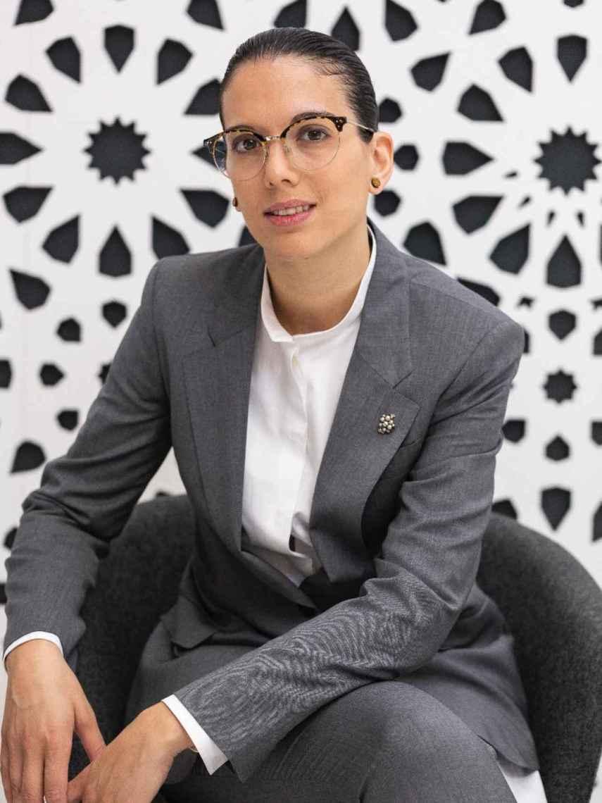 Paula Menéndez, sumiller de Noor.
