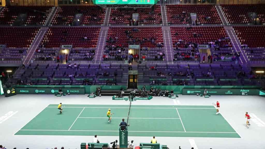 Poca asistencia en la Copa Davis