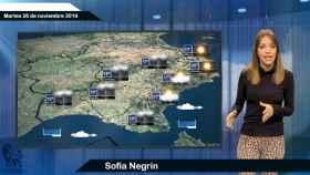 Fotograma de la predicción del tiempo de 'El español'