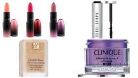 Algunos de los productos de maquillaje rebajados.