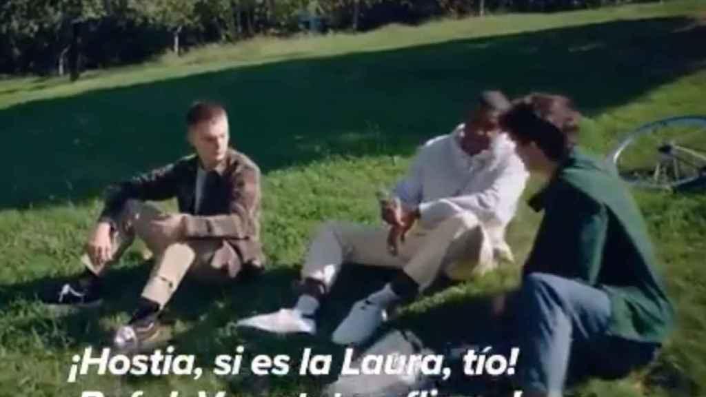 Imagen del polémico vídeo lanzado por el Ayuntamiento de Barcelona.