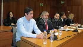 Rodrigo Lanza, en el juicio, con un look mucho más conservador de lo habitual