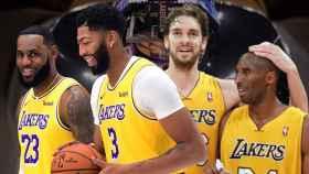Los Lakers de LeBron y Davis y de Kobe y Pau