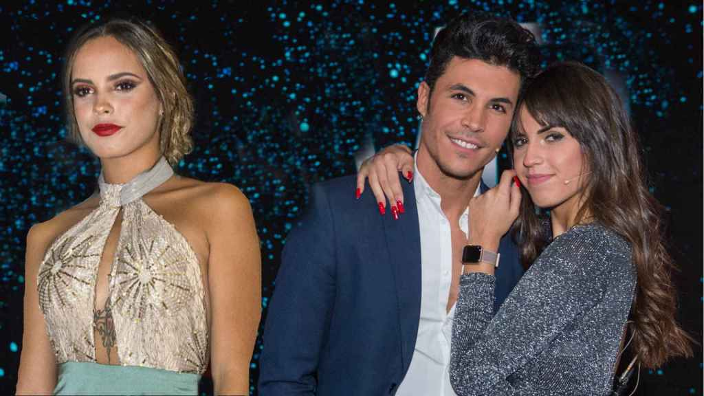 Gloria Camila junto a Kiko Jiménez y Sofía Suescun en montaje JALEOS.