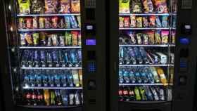 Varias máquinas de 'vending'.