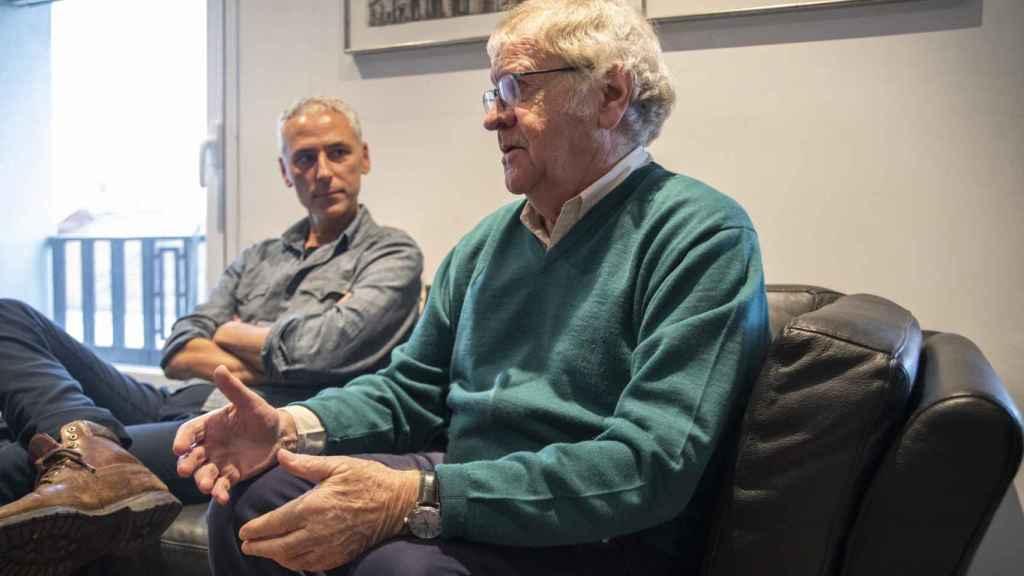 Gibson y el viñetista del cómic, Quique Palomo.