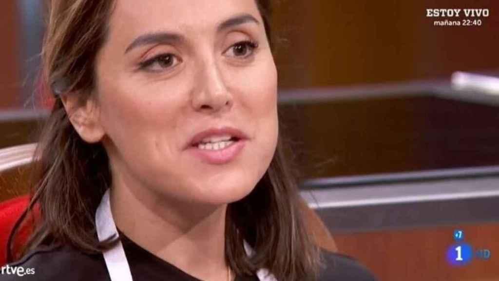 Tamara Falcó en uno de los programas de 'MasterChef Celebrity'.