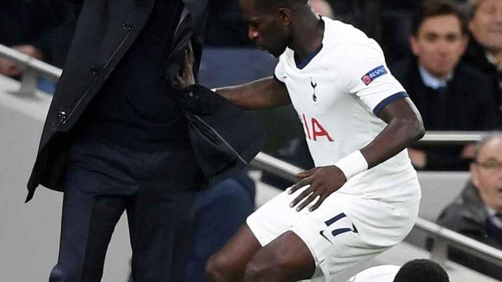 Mourinho, en un momento del partido