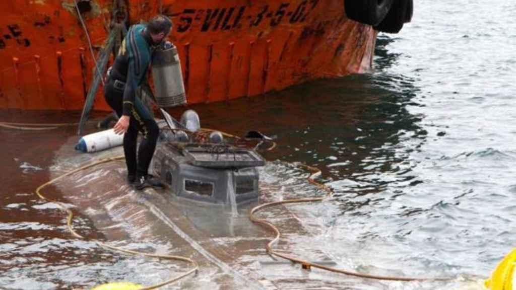 El narco submarino