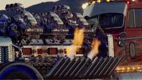 El camión más grande del mundo es una bestia con 4.000 CV de potencia